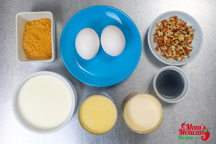 Mexican Flan Ingredients