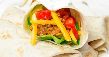 Beef Bean and Cheese Burritos Recipe