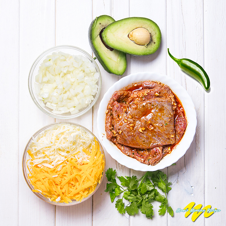 Jalapeno Beef Enchiladas Ingredients