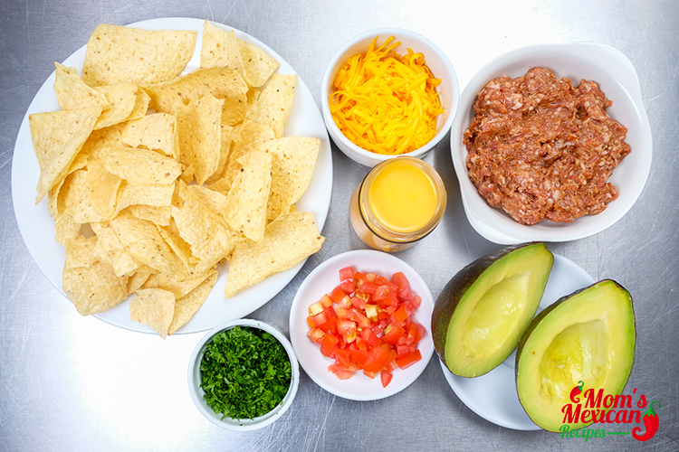 Late Night Nachos Ingredients 1