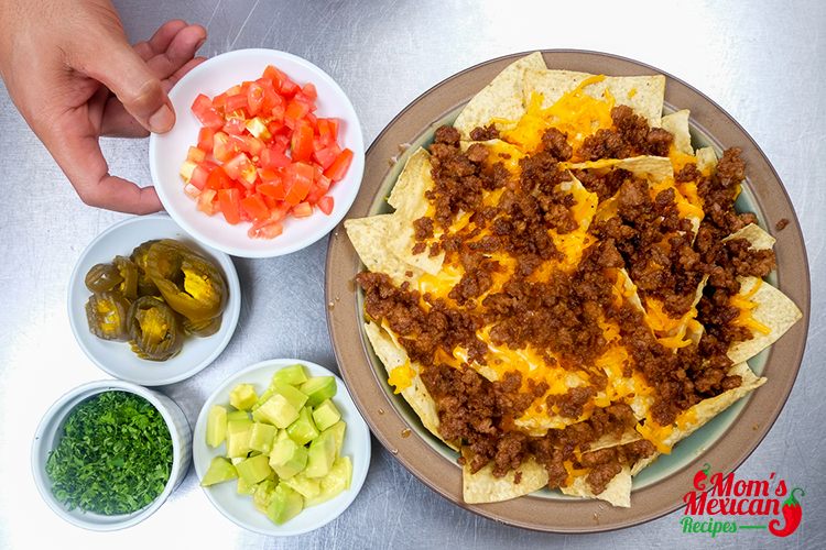 Late Night Nachos Ingredients 2