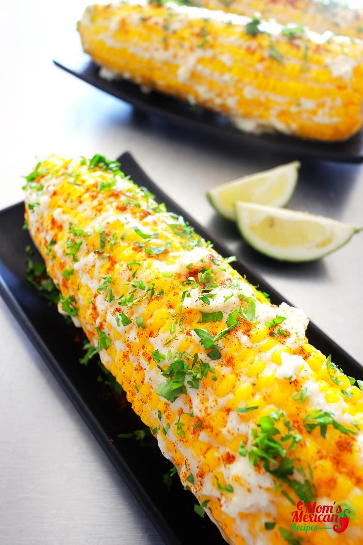 Mexican Sweet Corn Elote Recipe Final