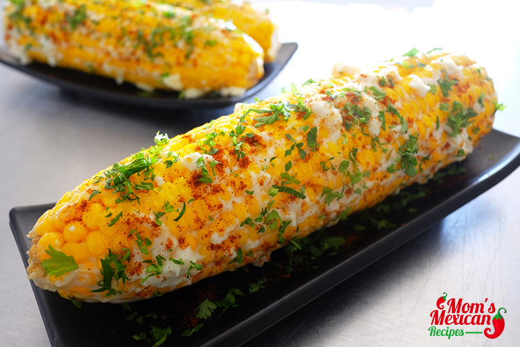 Mexican Sweet Corn Elote Recipe