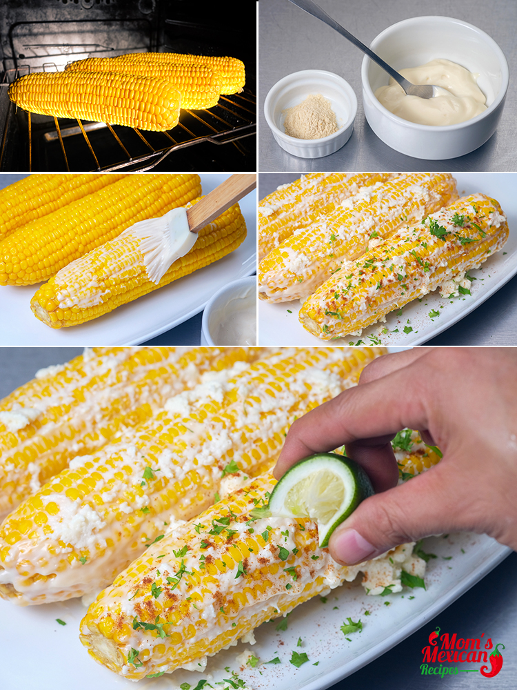 Mexican Sweet Corn Preparation