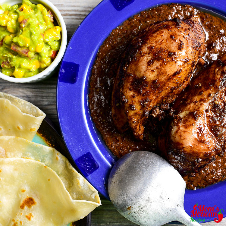 Grilled Chicken Mole Recipe