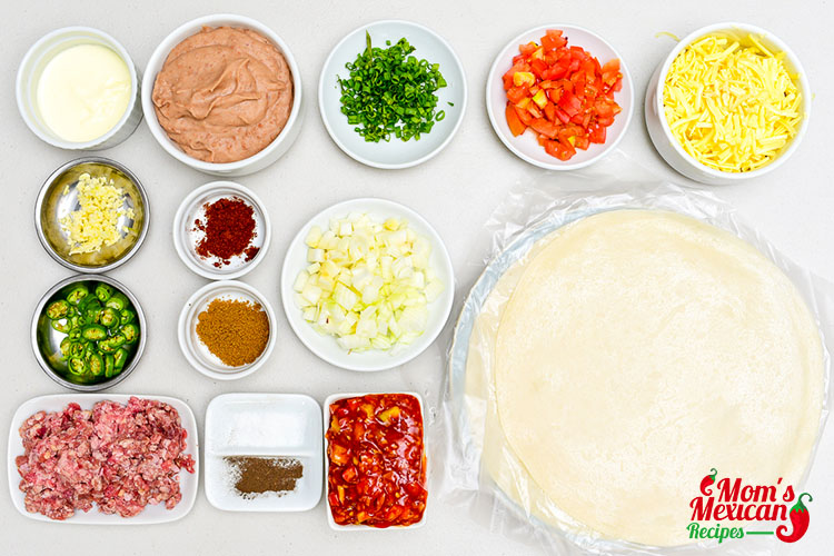 Mexican Pizza Ingredients