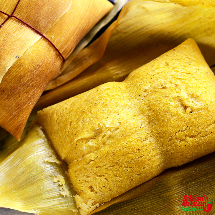 Shredded Chicken Tamales Recipe