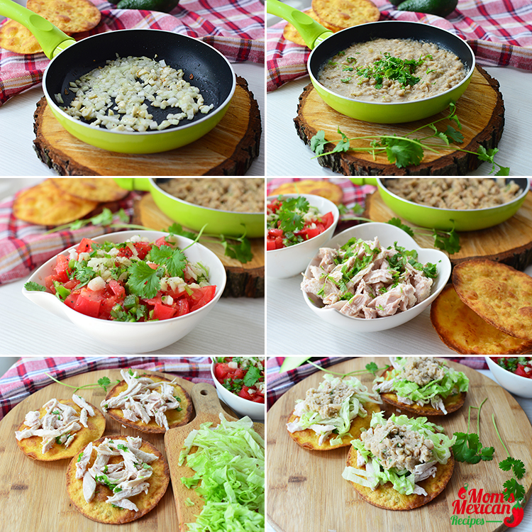 Chicken Tostadas Recipe Preparations