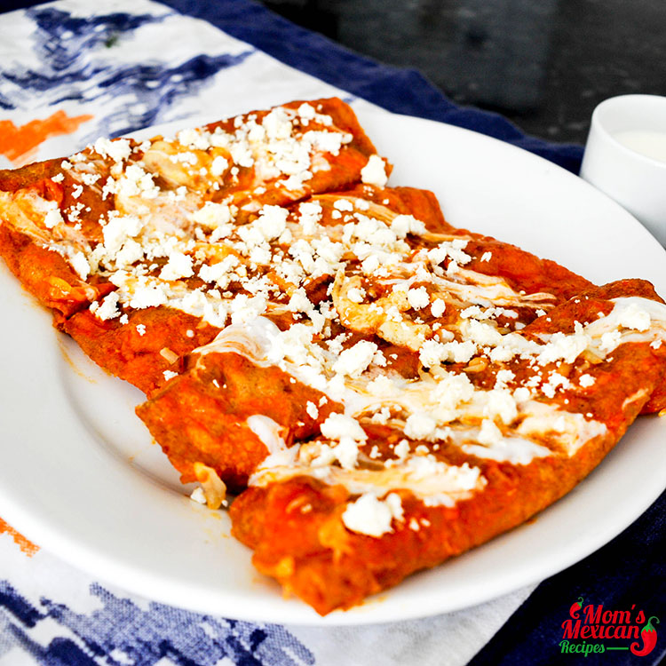 Red Chile Enchiladas Recipe