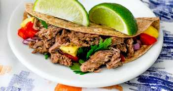 Slow Cooker Carne Asada Street Tacos Recipes