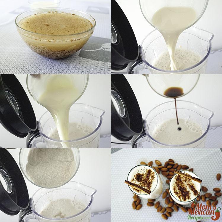Horchata Preparation