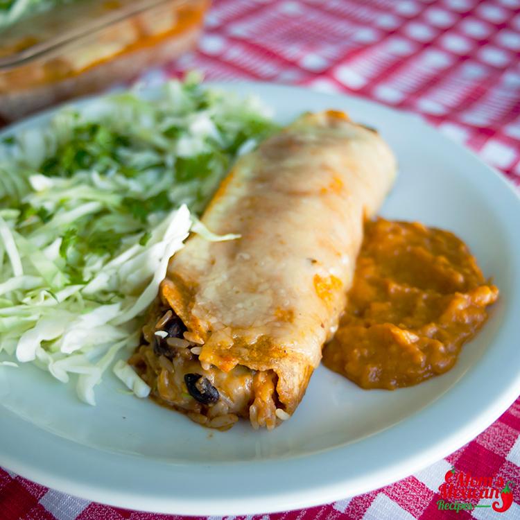 Enchilada Style Burrito Recipe