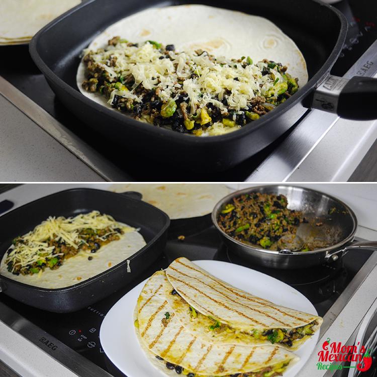 Beef Quesadillas Preparations I