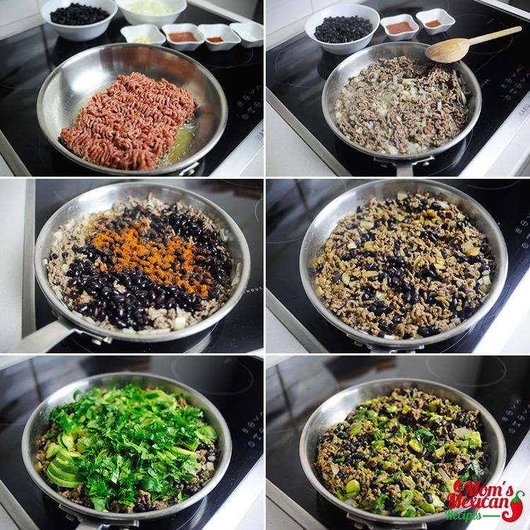 Beef Quesadillas Preparations