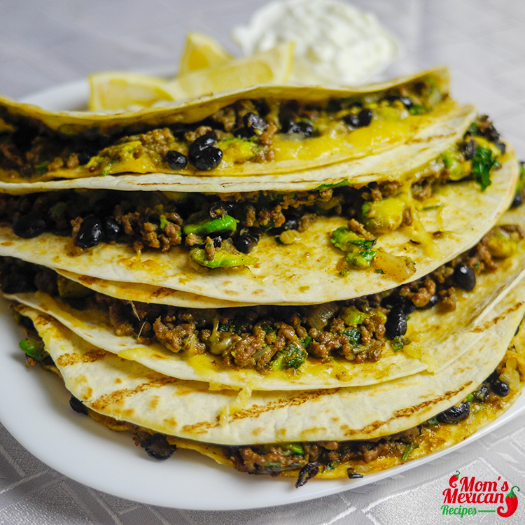Beef quesadillas recipe moms mexican recipes beef quesadillas recipe beef quesadillas ingredients forumfinder Gallery